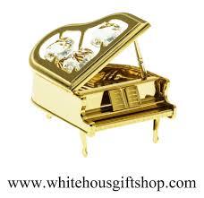 desk model gold steinway grand piano desk model table top