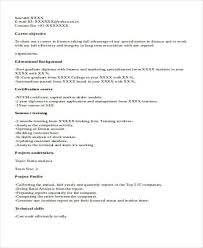 Fresher Accountant Resume Sample by 33 Accountant Resume Samples
