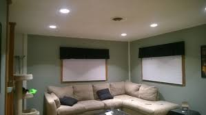can lights in living room ideas to remove shadows in recently installed recessed lights