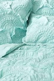 aqua ruffle comforter rivulets quilt aqua bedding aqua and textured bedding