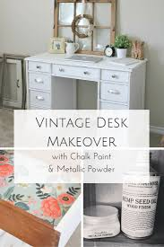 Vintage Desk With Hutch by The Story Of Greatness A Vintage Desk Makeover Making It In The