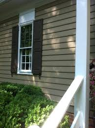 impressing light blue house exterior paint idea withdark brown