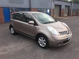 nissan 2008 2008 nissan note 1 4 fsh 71k in st georges shropshire gumtree