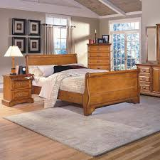 Sleigh Bed Set Honey Creek Sleigh Bedroom Set Furniture