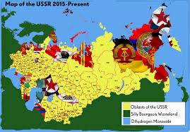 map of ussr ussr map filled by mclj10 on deviantart