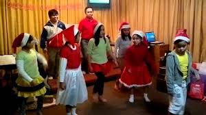 christmas party presentation of k2 children dance group youtube