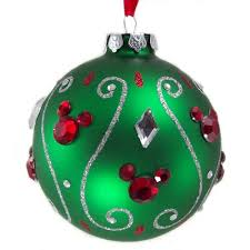 your wdw store disney ornament green with
