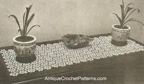 runner free crochet pattern