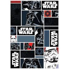 tapis pour chambre ado tapis chambre ado wars icons noir 95x133 par unamourdetapis