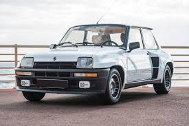 renault 5 renault 5 turbo 2 sold by bac la collection