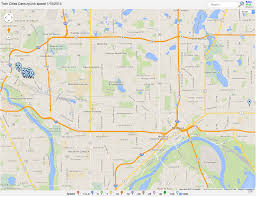 Map Of Twin Cities Metro Area by Mapping Centurylink Metro Speeds Your Tech Weblog