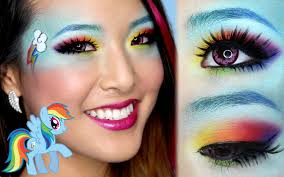 rainbow dash makeup tutorial youtube