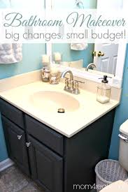 Affordable Bathroom Mirrors Budget Bathroom Makeover Including Framing Out Your Builder