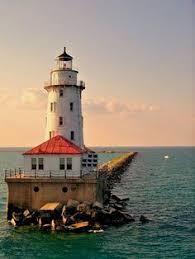 Lighthouse Light Grafton Lighthouse In Illinois By Kennethkeifer Beautiful Light