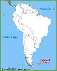 Map Of South Pacific Falkland Islands Maps Maps Of Falkland Islands Falklands Malvinas