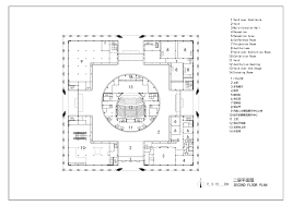 Architectural Design Floor Plans Gallery Of Da Chang Muslim Cultural Center Architectural Design