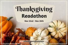 thanksgiving readathon 2017 announcement thanksgivingreadathon