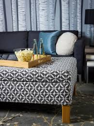 Storage Ottoman Table by Coffee Table Turn An Old Coffee Table Into Upholstered Storage