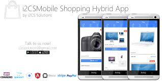 woocommerce mobile shopping cart app with api by i2cs ionic