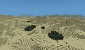 Desert Map Custom Terrain Desert Expanse Minecraft Project