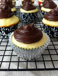yellow cupcakes with chocolate frosting american heritage cooking