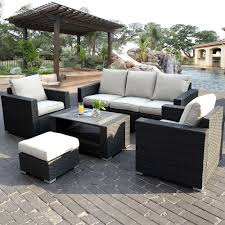 Patio Sectional Outdoor Patio Sectional Furniture Sets Simplylushliving