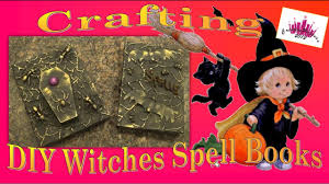 diy crafting halloween witches spells potions evil book of the