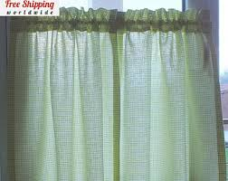 100 Curtains Cafe Curtains Etsy