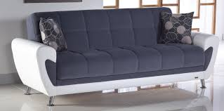convertible sofa bed duru cozy gray u2014 the kienandsweet furnitures