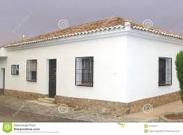 Modern Spanish Homes Modern Spanish Villa In Castilla La Mancha Spain Stock Photo