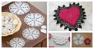 heart doilies lovely crochet heart doilies free patterns great for s day