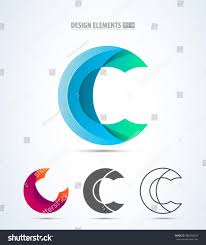 letter c logo icon design template stock vector 486056095