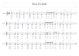 christmas song u2013 deck the hall demch