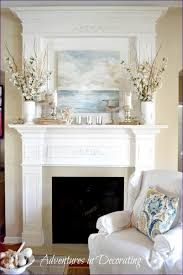 Fireplace Mantel Shelves Design Ideas by Living Room Fireplace Hearth Decor What To Hang Over Fireplace
