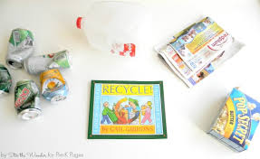 talking about recycling with preschoolers pre k pages