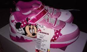 minnie mouse light up shoes free disney minnie mouse bowtique light up sneakers in sz