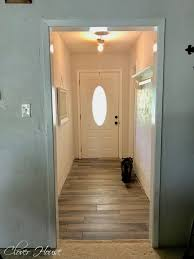 Color Me Pretty Paint The by Clover House Builder Grade Door Makeover Saving