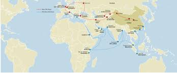 Xi An China Map by Belt And Road Initiative China Plans 1 Trillion New U0027silk Road