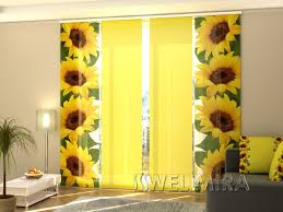 Sunflower Yellow Curtains 143 Best Sunflower Curtain Images On