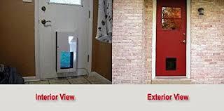 Interior Pet Door For Cats 2017 Top 5 Best Automatic Dog Door For Pets Safe U0026 Secure