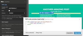 wordpress theme editor gone converting html to wordpress pinegrow web editor