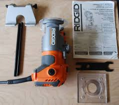 Ridgid Router Table Ridgid Trim Router R2401 Exceeds Expectations Pro Tool Reviews