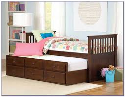 Bunk Bed Trundle Max U Lily Solid Wood Twin Over Twin Bunk - Upholstered bunk bed