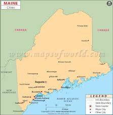 map of maine cities cities in maine maine cities map