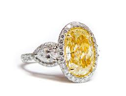 canary engagement ring 6 carat canary yellow ring for sale at 1stdibs