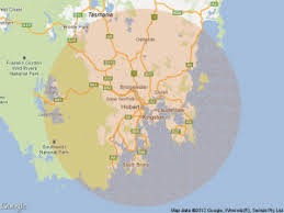 draw a radius on a map static map how to draw a radius around a point