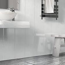 Upvc Bathroom Ceiling The Cladding Store Matt White Wood Effect Bathroom Pvc Cladding