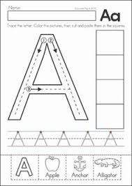 preschool letter of the day worksheets kyler learning
