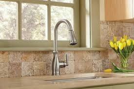 Pull Down Kitchen Faucets Reviews by Moen 7185csl Brantford Review High Arc Pulldown Kitchen Faucet