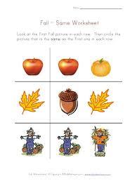 preschool worksheets fall preschool worksheets free printable